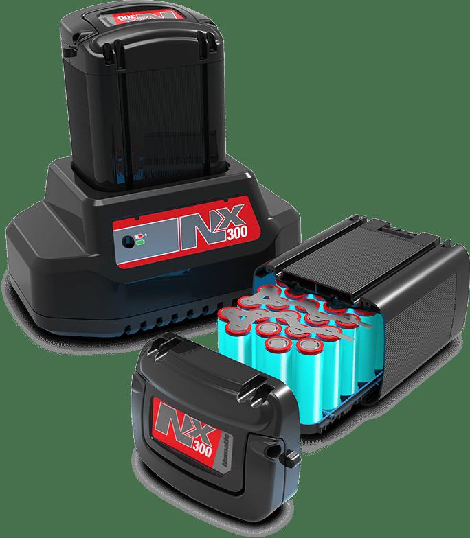 NX300 battery cutaway